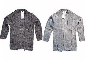 BAMBINI-RAGAZZI-Maglione-aperto-CAVO-scialle-maglione-giacca-cardigan