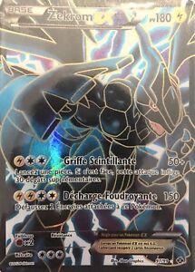 Neuf New Ultra Rare Zekrom Ex Full Art 97 99 Carte Pokemon Ebay