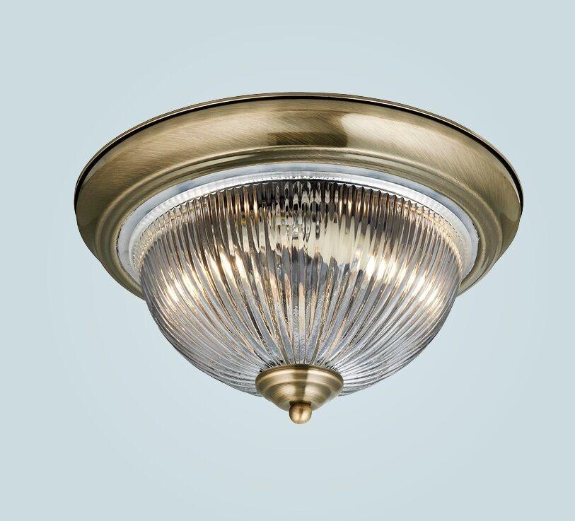 Hochwertige LED Deckenlampe Wohnzimmer Amber Kristalle Chrom 15 W LxB 30x30 cm