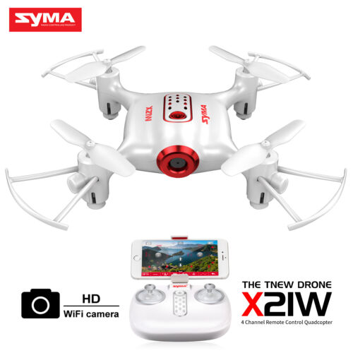 Syma X21W HD Camera Wifi FPV Realtime Selfie Drone RC Quadcopter Altitude Hold