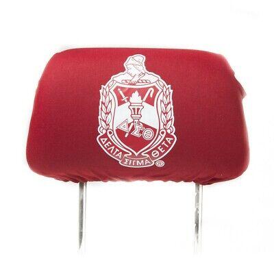 Black Kappa Alpha Psi Fraternity Headrest Cover Set of 2-New!