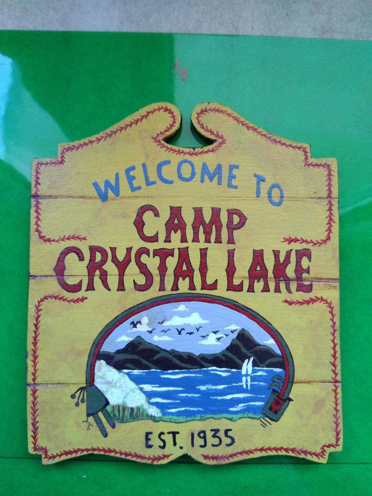 Friday the 13, camp crystal lake sign 16 , jason voorhees,sidemostrare, caliente giocattoli ,1