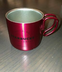 3 Starbucks Holiday Metal Oz 2017 Espresso Red CupEbay POk8n0w