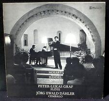 Peter-Lukas Graf & Jörg-Ewald Dähler Mozart Bach Handel Quantz Claves LP & CV NM