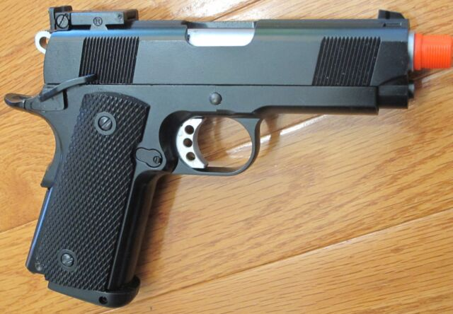 Full Metal CO2 Blowback Airsoft Gun 1911 Style Well G193 Shoot 350 FPS 0 2G  BB