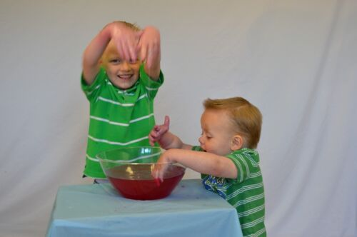 Messy Play SlimeRed PackPlay Time Slime ToyGelli Baff