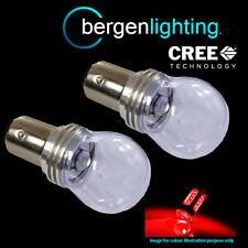 380 P21/5W BAY15D 1157 XENON RED 3 CREE LED STOP TAIL BRAKE LIGHT BULBS ST203201