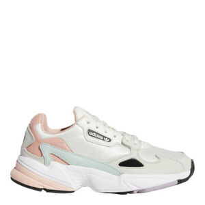 Details about adidas Women's Originals Falcon Shoes: WhitePinkAqua EE4149