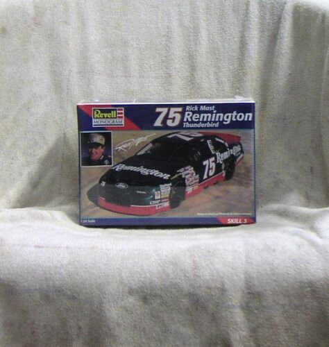 # 75 Rick Mast Remington Thunderbird 124 Scale NASCAR Plastic Model Kit Sealed
