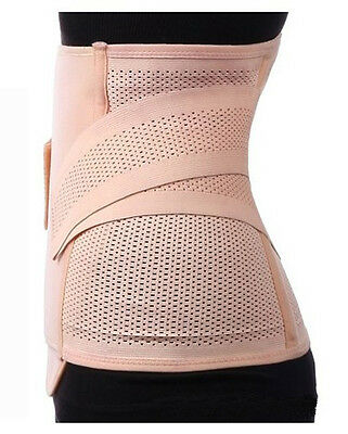 Waist Tummy Belt Body Girdle Trainer Shaper Cincher Underbust Control Corset USA