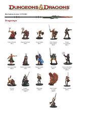 Copper Samurai x3 # 15/60 Dragoneye D&D Minis