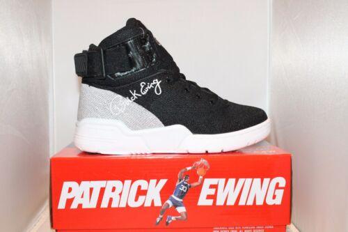 White NEW Mens Ewing Athletics Patrick Ewing 33 HI Weave Knit Collection Black