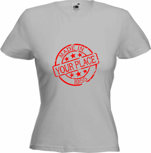 Premium Quality 2020 Gift MADE IN PLACE 1955-65th Birthday T-Shirt