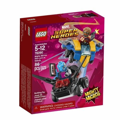 Nebula Building Set 76090 NEW NIB Star-Lord vs LEGO Mighty Micros