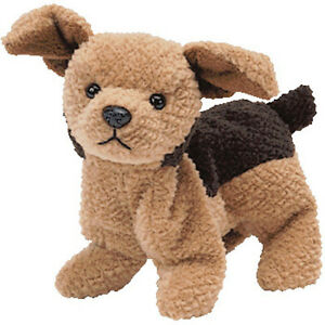 4b56a3e8e88 Image is loading TY-TUFFY-Beanie-Baby-Terrier-Dog-MWMT-4th-