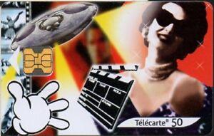 Telecarte-F1057-Le-XXe-Siecle-n-5-Le-Cinema-50-ut-OB2