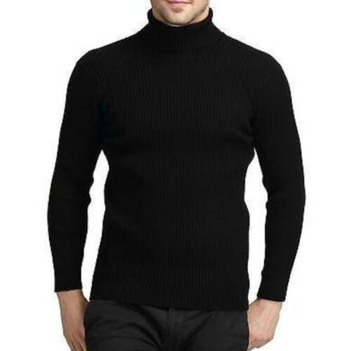 Men/'s Cashmere Blend Turtleneck Knitted Slim Fit Pullover Sweaters New Casual