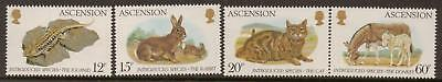 Quality In Ascension Sg345/8 1983 Introduced Species Mnh Superior