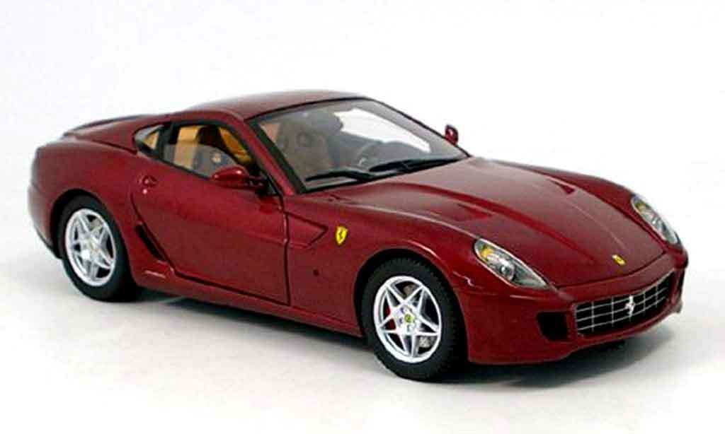 LOT OF 2 FERRARI MODELS. 1 365 GTB/4 & & & 1 599 GTB FIORANO 1:18 HOT WHEELS ELITE e02b8d