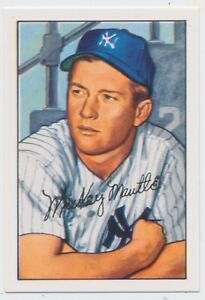 1952-New-York-Yankees-Bowman-Team-complete-Repro-Set-Mickey-Mantle-amp-T205-STARs