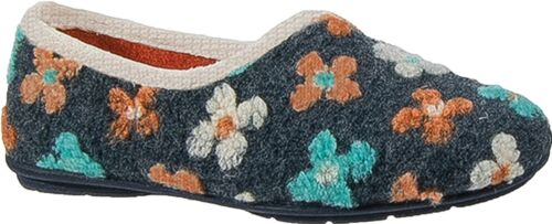 Sleepers GRACIE Ladies Womens Knitted Slip On Full Slippers Multicoloured