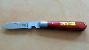 OTTER couteau, électricien, câbles, couteau pliant de Solingen Germany