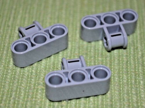 +////OOO 3 Light Gray 1 to 3 Cross Hanger w// Beam ~ Technic ~ Lego ~ NEW