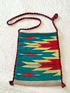 Handmade Mexican Blanket Tote Bag