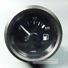 VDO combustible Cuadro de indicadores tauchrohr tankanzeiger gauge 12v/24v LED Negro