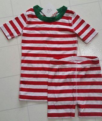 Hanna Andersson 80 18-24 Boys Pajamas Short Sleeve Organic Snoopy Peanuts NEW