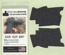 Tractiongrips rubber grips for EAA Sarsilmaz SAR Arms B6P, K2P pistol grip 9/40