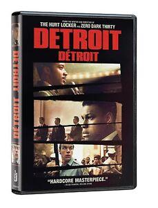 Detroit (DVD, 2017) New, Free shipping