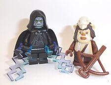 Lego Emperor Palpatine & Ewok Chief + Weapons Star Wars Minifigures