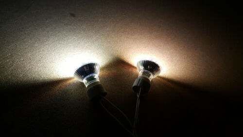 230V GU10 SMD LED 8er 5W = 50W Warmweiß Kaltweiß Birne Lampe 50mm Hochvolt 5Watt