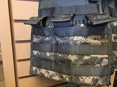 ACU Digicam Army 3 x 30 MOLLE II Side by Side Pouch NEW Triple Mag Pouch