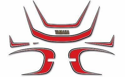 YAMAHA XJ550 DECAL SET