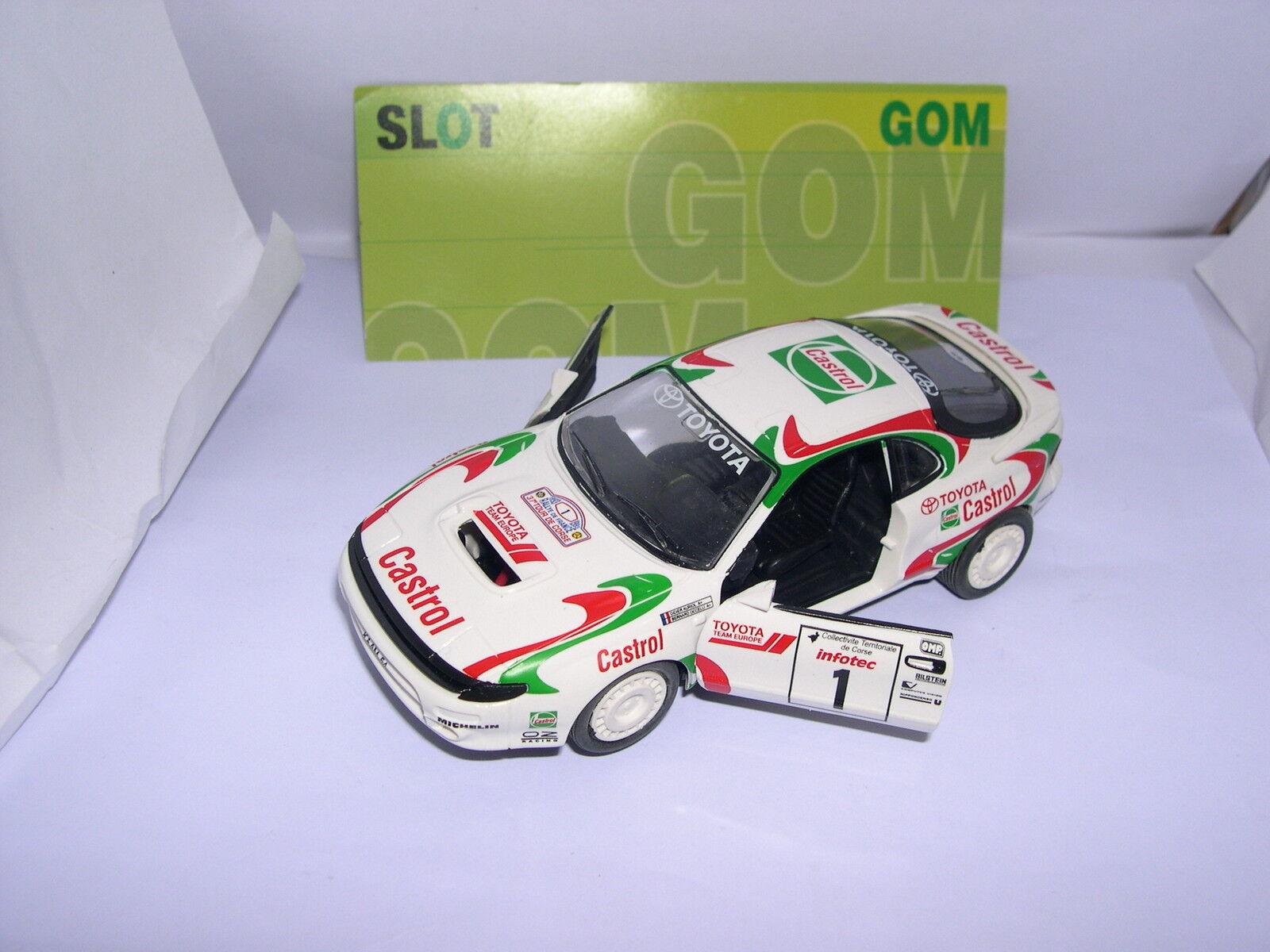 GOM 1010 TOYOTA CELICA TURBO 4WD T. DE CORSE'93 D.AURIOL NEVER IN THE MARKET