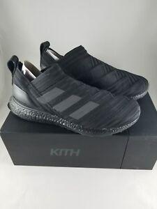 43e23af05f3f KITH Adidas Nemeziz Ultra Boost Triple Black SIZE 8.5 DS 17+ COBRA ...