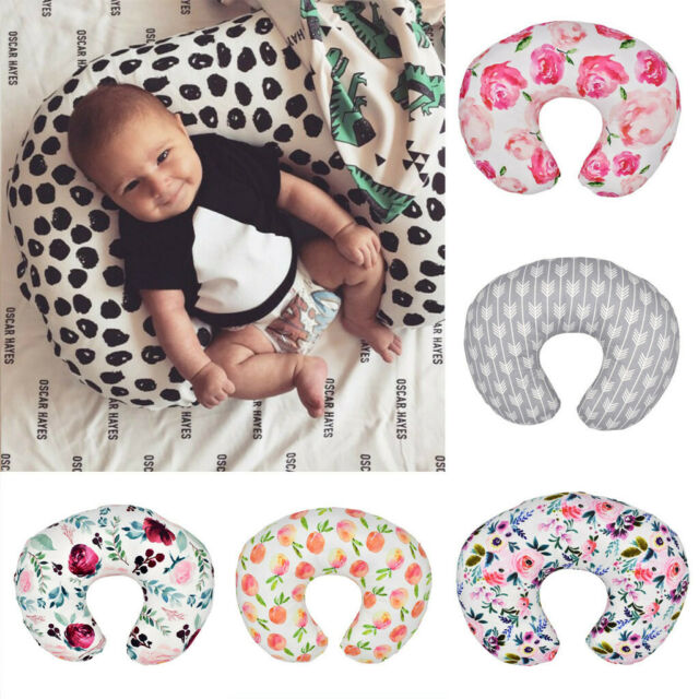 Nursing Newborn Baby Breastfeeding Pillow Cover Nursing U-Shape Cover Slipcover