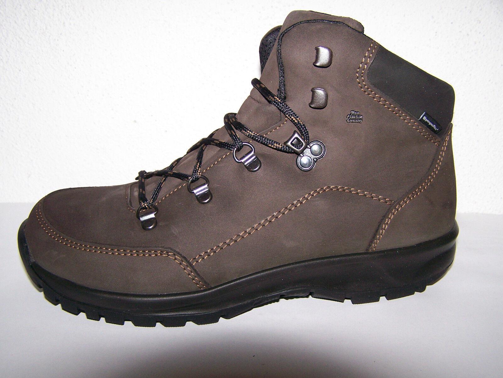 Finn Comfort Stiefel SympaTex Modell Tibet Wander Stiefel Comfort Boots Wechselfußbett 8446cd