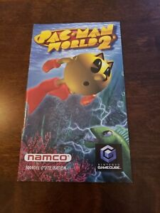 Pac-Man-World-2-FRENC-Manual-Only-Nintendo-Gamecube-No-Game