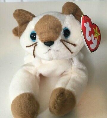 Cat 1996 Ty Beanie Baby Snip MWMT