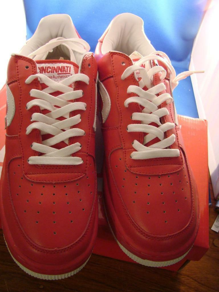 State Authentics Nati 513 Red & 12 White Tennis Shoes Size 12 & BRAND NEW 967805