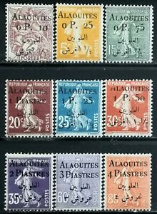 1925-gt-French-Colonies-gt-Alaouites-gt-Stamps-Surcharge-OVP-gt-Unused-MNH-CV-39-94