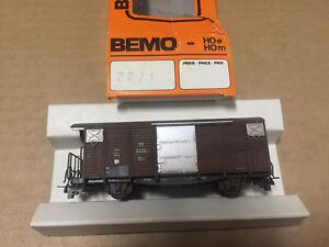 Bemo 2271  Ged. Güterwagen gealtertOVP
