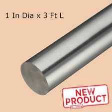 Steel Solid Round Stock 1 Inch X 3 Feet Unpolished Cold Finish Rod Alloy New