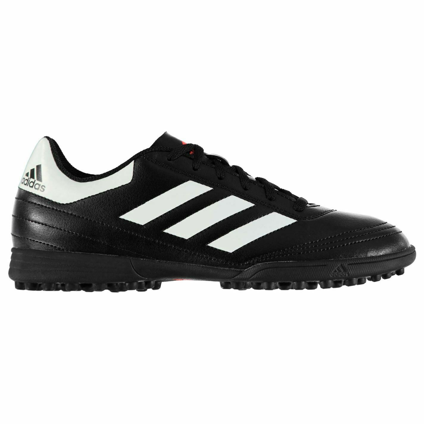 Adidas Goletto AG Artificial Grass Trainers Mens Blk Wht Football Soccer shoes