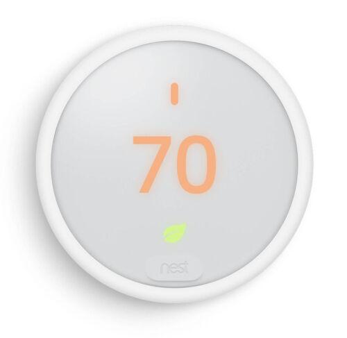 Nest E Thermostat T4000ES White New Brand New