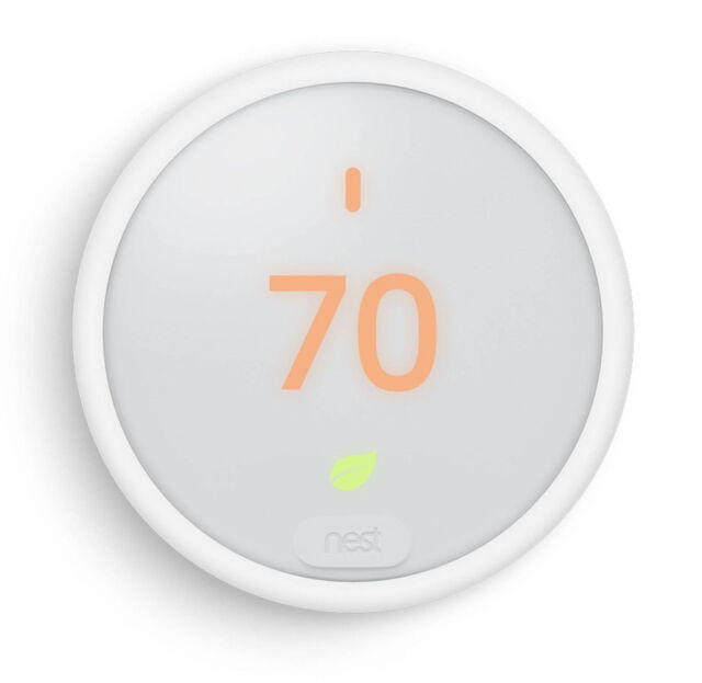 Nest Thermostat E White Programmable