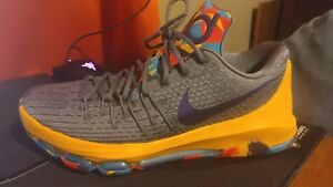 ef3311c07645 Nike KD 8 VIII PG County Mens 749375-050 Grey Durant Basketball Size ...